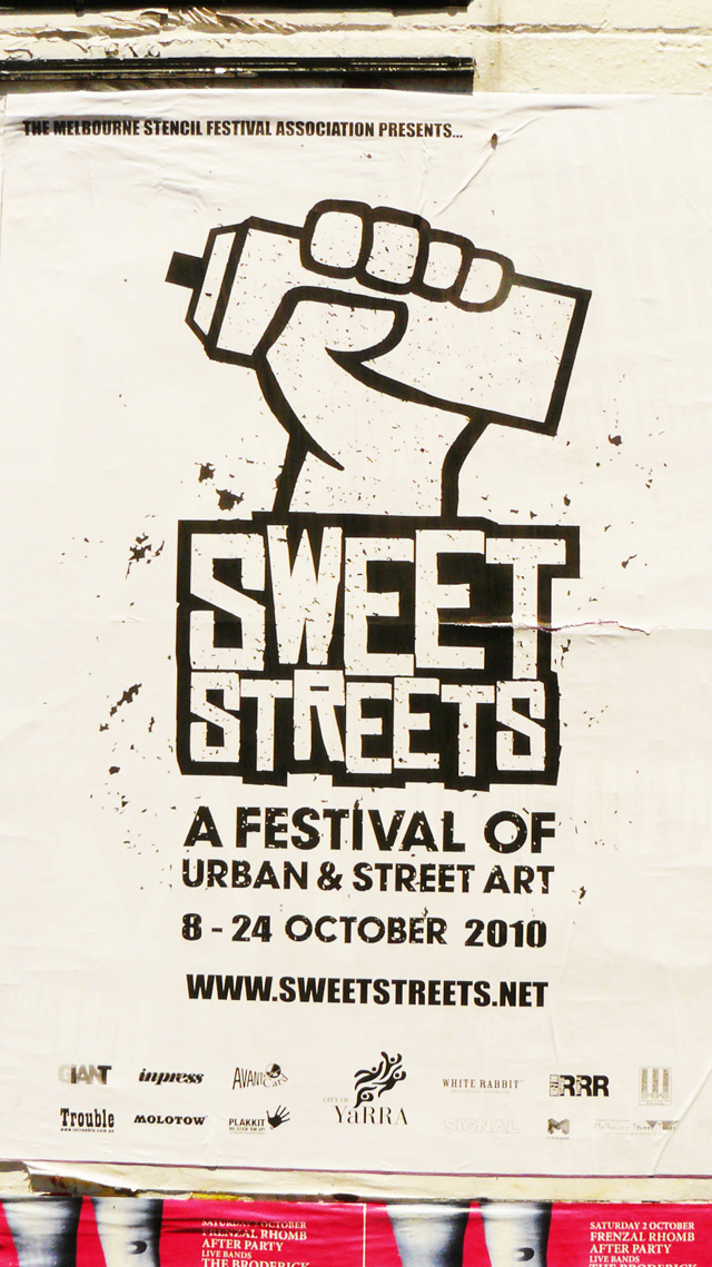 Sweet Streets Poster